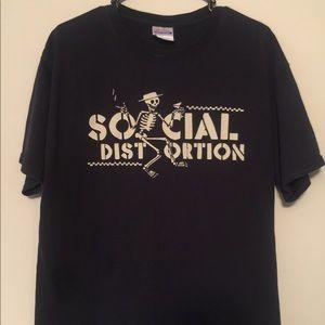 Vintage Social Distortion Rock Band shirt